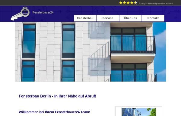 Vorschau von fensterbauer24.com, Fensterbau Berlin und Potsdam