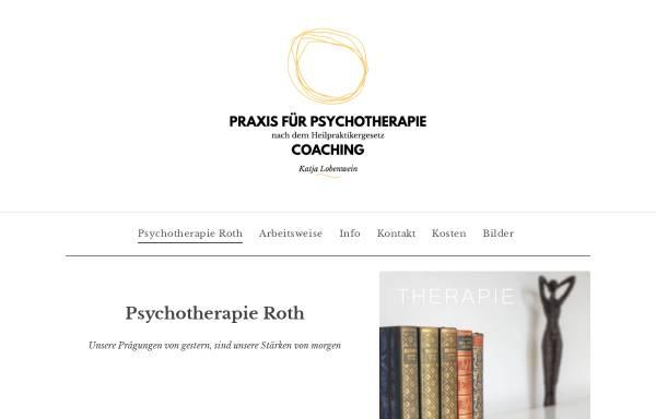 Vorschau von www.katja-lobenwein.de, Psychotherapie Roth - Katja Lobenwein