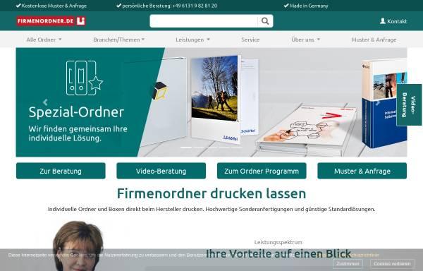 Vorschau von www.firmenordner.de, Druckbetrieb Lindner GmbH & Co. KG