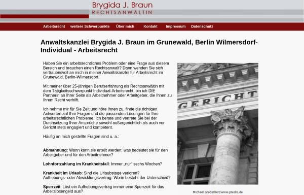 Vorschau von www.lexit.de, Rechtsanwältin Brygida J. Braun