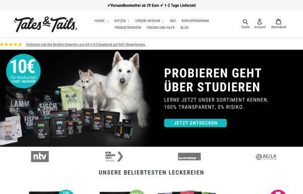 Vorschau von talesandtails.de, Tales and Tails GmbH