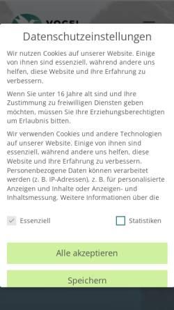 Vorschau der mobilen Webseite vogel-webmarketing.de, Vogel Webmarketing & Webdesign