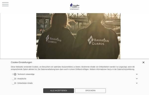 Vorschau von www.bavarianguards.de, Bavarian Guards GmbH