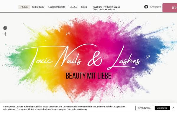 Vorschau von www.toxicnails.de, Toxic Nails