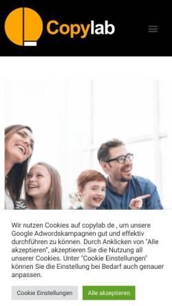 Vorschau der mobilen Webseite www.hallofilm.de, Hallofilm