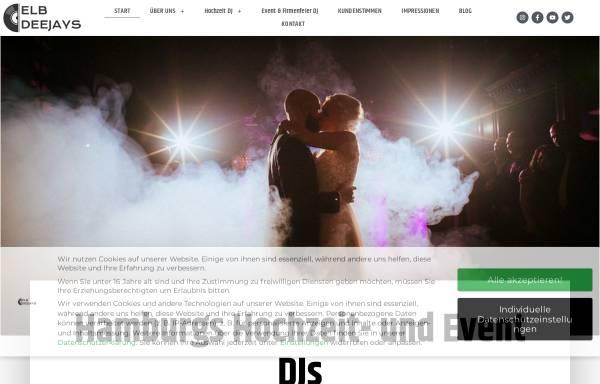 Vorschau von www.elb-deejays.de, Elb-Deejays