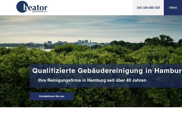 Vorschau von www.beator.de, Beator Gebäudeservice GmbH