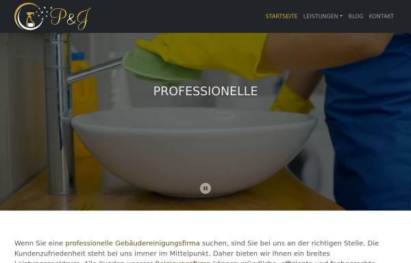 Vorschau von pj-gebaeudereinigung.de, P&J Gebäudereinigung