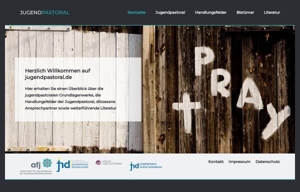Vorschau von www.jugendpastoral.de, Institut für praktische Theologie Benediktbeuern
