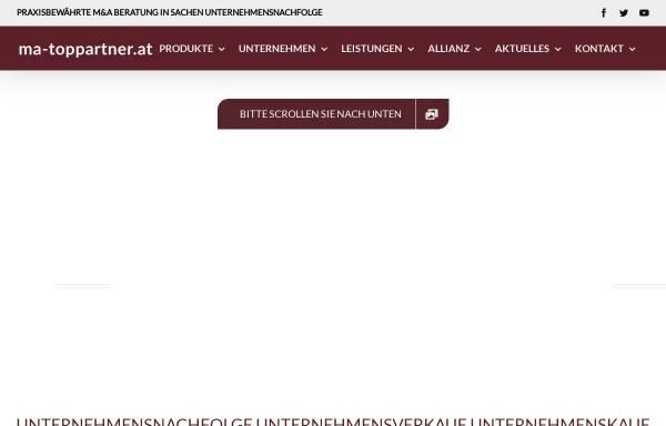 Vorschau von www.ma-toppartner.de, M&A TOP Partner GmbH & Co KG