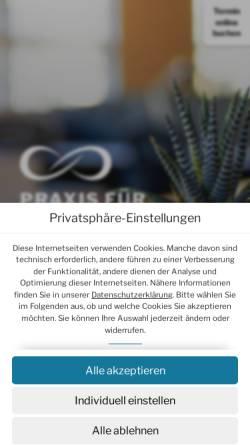 Vorschau der mobilen Webseite burnout-praxis.com, Praxis für Burnout und Erschöpfung - Sophia Kotulla