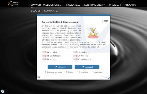 Vorschau von www.jpk-web-vision.de, Webdesignagentur - Web Vision