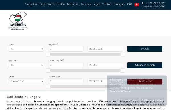 Vorschau von ungarn-immobilien.ch, Dr. Peik Langerwisch Consulting Ungarn-Immobilien.ch