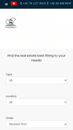 Vorschau der mobilen Webseite ungarn-immobilien.ch, Dr. Peik Langerwisch Consulting Ungarn-Immobilien.ch