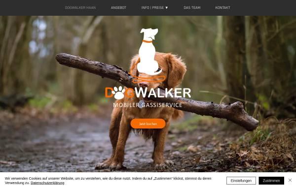 Vorschau von www.dogwalker-haan.de, Dogwalker Haan - Pia-Madeleine Schweda