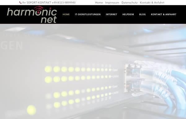 Vorschau von www.harmonicnet.de, HarmonicNet