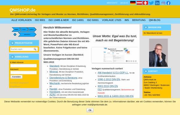 Vorschau von www.qmshop.de, Qualitätsmanagement Verlag Seiler