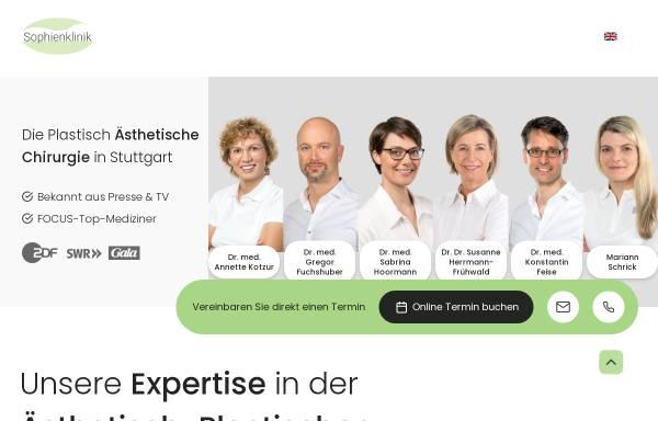Vorschau von klinik-herrmann.de, Dr. Dr. med. Susanne Herrmann-Frühwald