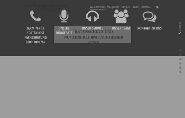 Vorschau von der-hoerakustiker-stuttgart.de, Der Hörakustiker Stuttgart - Thomas Lorié
