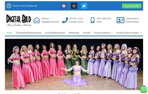 Vorschau von digitalbild-herweck.de, DigitalBild-Herweck.de