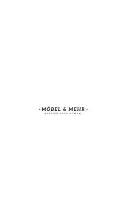 Vorschau der mobilen Webseite www.moebel-mehr.de, Möbel und Mehr