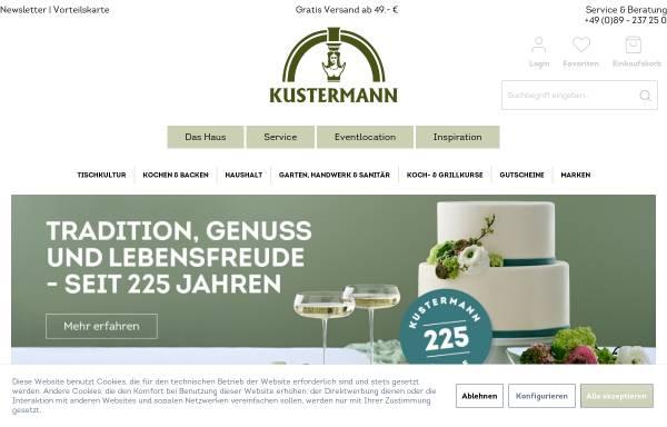 Vorschau von shop.kustermann.de, F.S. Kustermann GmbH