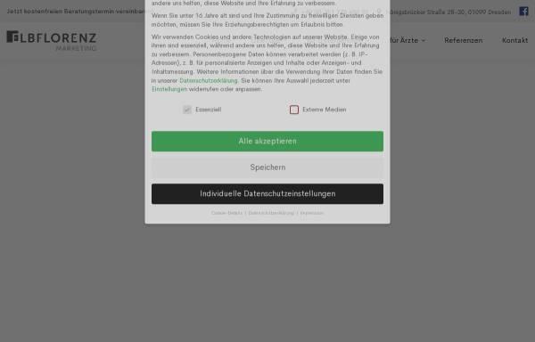 Vorschau von www.elbflorenz-marketing.de, Elbflorenz Marketing