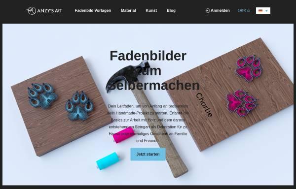 Vorschau von anzysart.de, Anzy's Art & Design