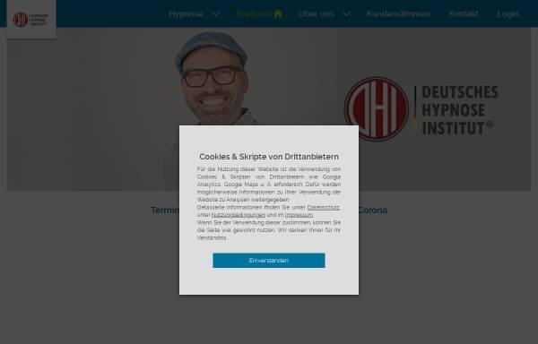 Vorschau von deutsches-hypnoseinstitut.de, Deutsches Institut für Hypnose GmbH