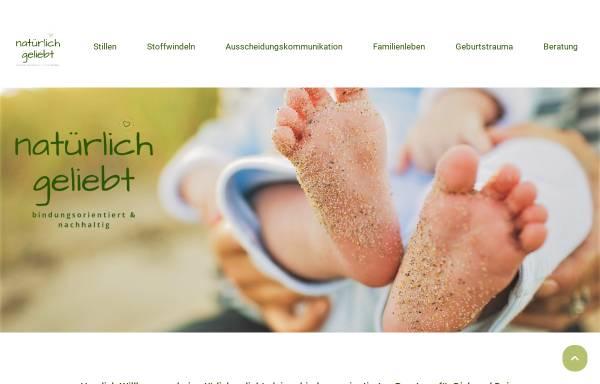 Vorschau von natuerlich-geliebt.de, Stoffwindel & artgerecht Coach