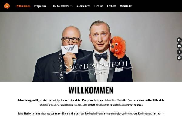 Vorschau von www.salonloewengebruell.de, Salonlöwengebrüll