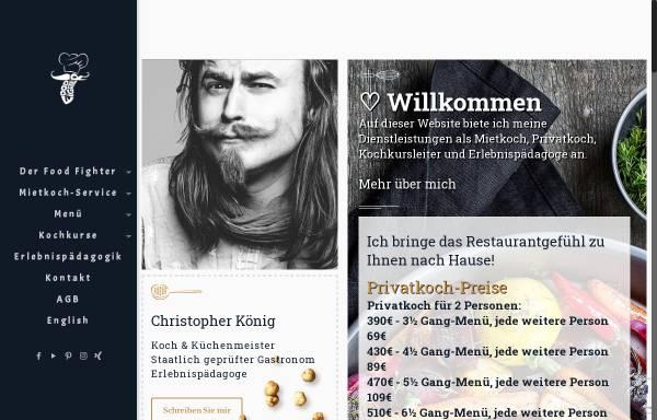 Vorschau von www.food-fighter.de, Food-Fighter Mietkoch-Service