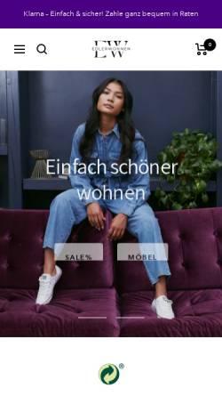 Vorschau der mobilen Webseite edlerwohnen.de, Edler Wohnen
