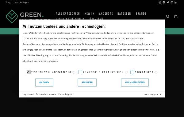 Vorschau von www.greeninpieces.de, green.in.pieces