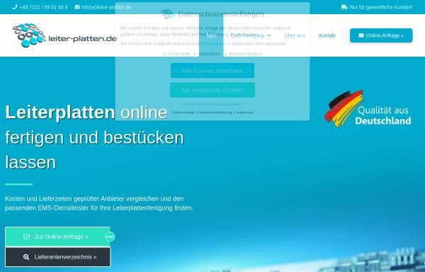 Vorschau von leiter-platten.de, Leiter-Platten