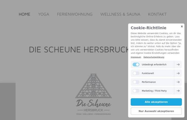 Vorschau von www.diescheune-hersbruck.de, Die Scheune Hersbruck