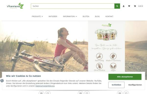 Vorschau von www.vitamnesia.de, Vitamnesia
