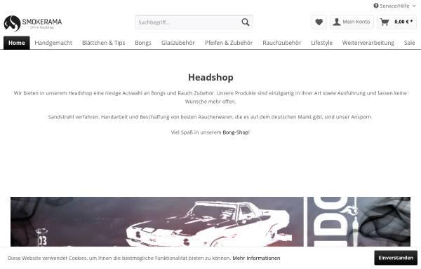 Vorschau von www.online-headshop.de, Smokerama