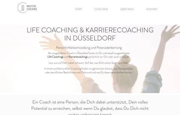 Vorschau von www.wouters-coaching.com, Wouters Coaching Düsseldorf