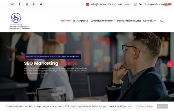 Vorschau von seomarketing-web.com, B2B & B2C Website Support & SEO - Tahar Jaballah