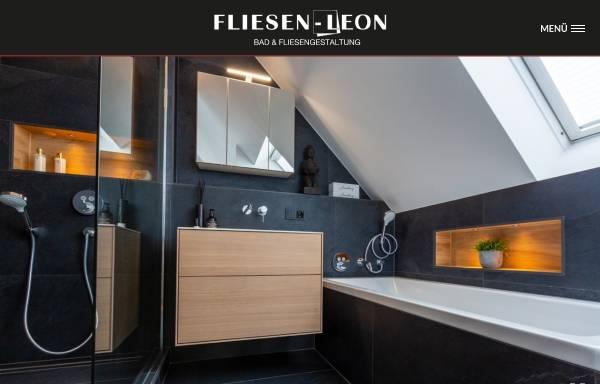 Vorschau von www.fliesen-leon.de, Fliesen Leon