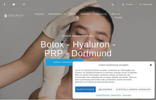 Vorschau von www.dermomit-schoenheitspraxis.de, Schönheitspraxis für Botox Faltenbehandlung Dortmund