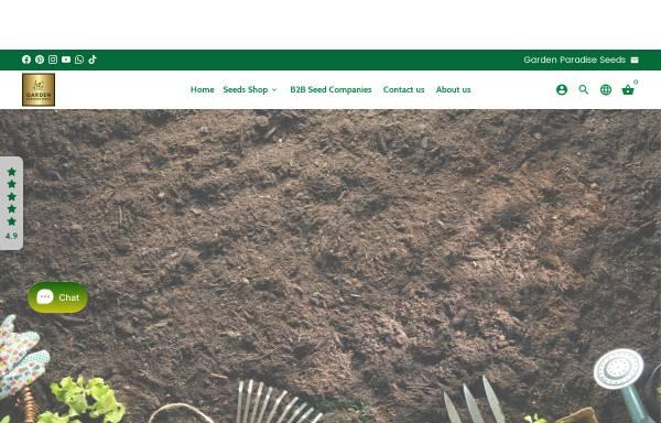 Vorschau von www.gardenparadiseseeds.com, Garden Paradise Seeds