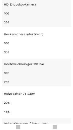 Vorschau der mobilen Webseite werkzeugverleih-ostfriesland.de, Ostfriesischer Werkzeugverleih
