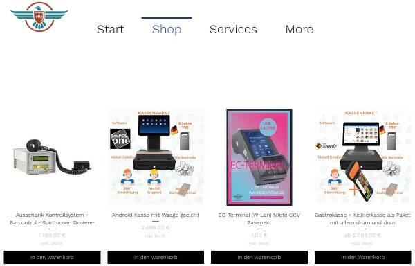 Vorschau von www.enzsystems.de, eNz Systems Kassen