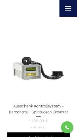 Vorschau der mobilen Webseite www.enzsystems.de, eNz Systems Kassen