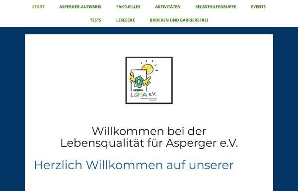 Vorschau von www.lqfa.info, Lebensqualität für Asperger- LQFA e.V.