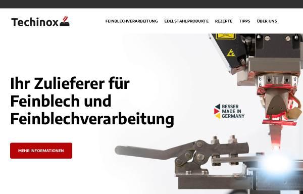 Vorschau von www.techinox.de, Techinox GmbH.