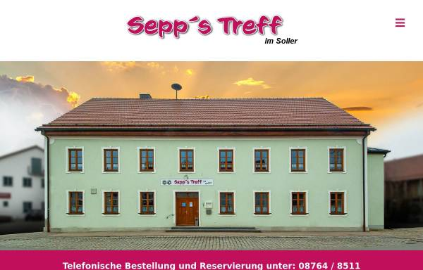 Vorschau von sepps-treff.de, Sepp's Treff im Soller
