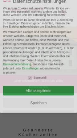 Vorschau der mobilen Webseite sepps-treff.de, Sepp's Treff im Soller